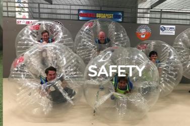 bubbleball Budapest