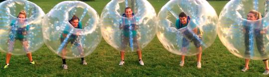 csapatépítés buborékfocival