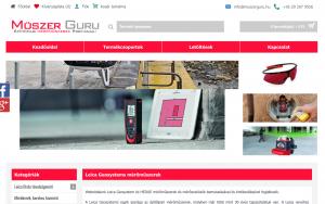Leica Geosystem és HEDUE mérőműszer